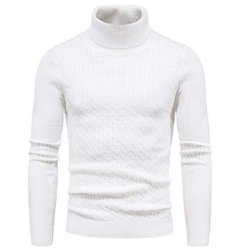 Hombres Suéteres de punto de algodón Pull Homme