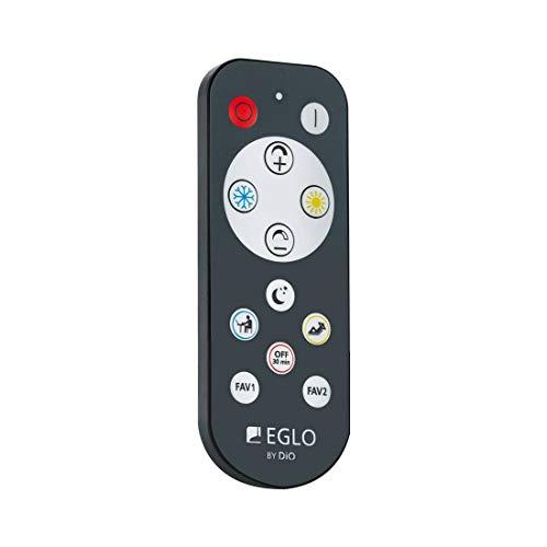 EGLO ACCESS Fernbedienung, Remote Control für EGLO Access Leuchten, Material: Kunststoff, Farbe: Anthrazit
