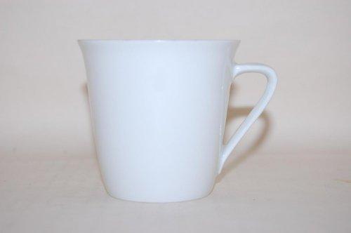 Hutschenreuther - Taza de café (7,7/7,7 cm), color blanco