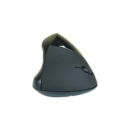 Souris - Souris sans fil ergonomique verticale noire (USB) - Souris sans fil ergonomique - Droitier - Capteur optique 1750 dpi - 5 boutons