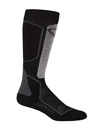 Icebreaker IBN704 Chaussettes Homme, Oil/Black/Silver, FR (Taille Fabricant : XL)