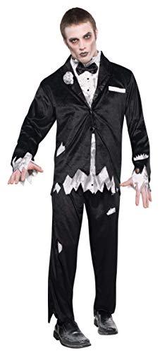 Amscan - 840897-55 - Zombie du Bal - Costume pour Homme - Taille L