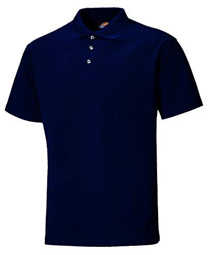 Dickies SH21220 NV L Polo-Shirt Taille L Bleu Marine