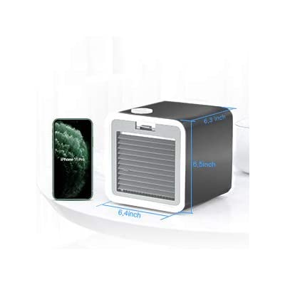 Amazon - 70% Off on Air Conditioner Portable Mini Air Cooler, Personal Desktop Cooling Fan for Bedroom Home Office Travel 3 Speeds