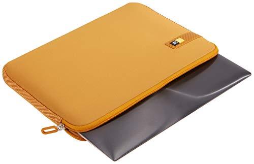 Case Logic LAPS Notebook Hülle für 14 Zoll Laptops (ultraschmales Sleeve, ImpactFoam Schaumpolsterung für Rundumschutz, Laptop Tasche ideal für Chromebook oder Ultrabook), Buckthorn