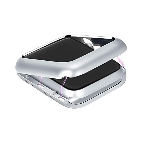 iBàste Smart Watch Case Frame Case para Apple Watch Case IWatch2 / 3 Metal Caja de Reloj de adsorción magnética 38mm / 42mm