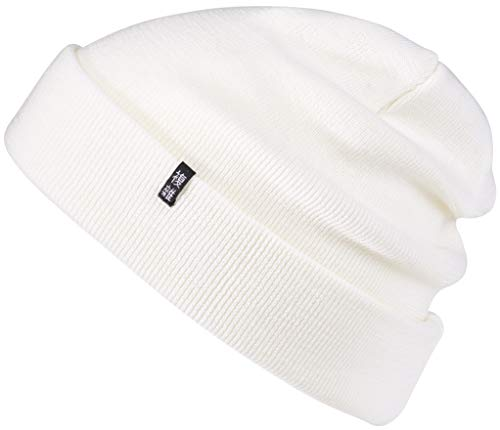 Enter the Complex® Winter Mütze, Warme Woll-Beanie, 100% Merino, Damen und Herren, Weitere Farben (Weiß)