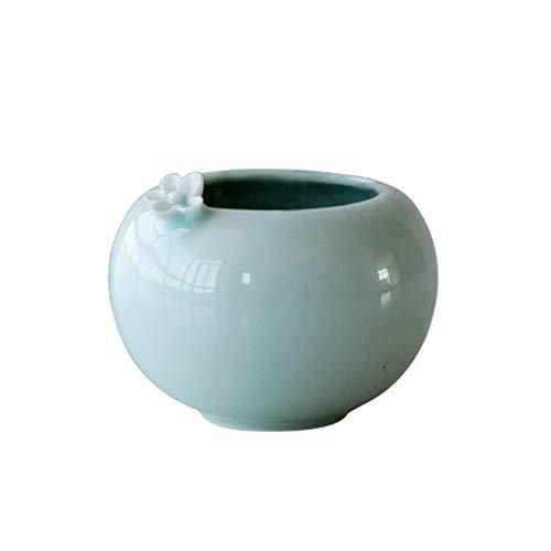 Vazen Keramische Fleshy Bloempot Binnen Schaduw Groen Aanrechtblad Decoratie Bonsai Grote Mond Bloem