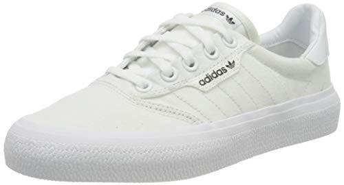 adidas 3Mc, Sneaker Unisex Adulto, Footwear White/Footwear White/Gold Metallic, 43 1/3 EU