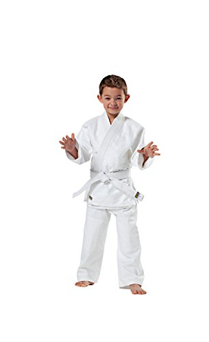 KWON - Kimono de artes marciales, tamaño 140 cm, color blanco