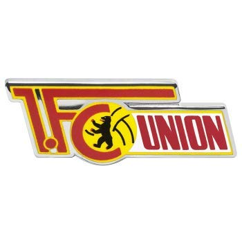 Flaggenfritze Pin 1.FC Union Berlin - 1.5 x 2.5 cm + gratis Aufkleber