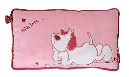 Nici 27535 With Love - Cojín (43 x 25 cm), color rosa