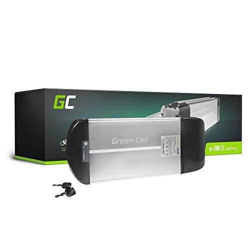 GC® E-Bike Ersatzakku 36V 10Ah Akku Pedelec Rear Rack mit Li-Ion Panasonic Zellen Mondraker REX Fifield Liqfeel Fantic