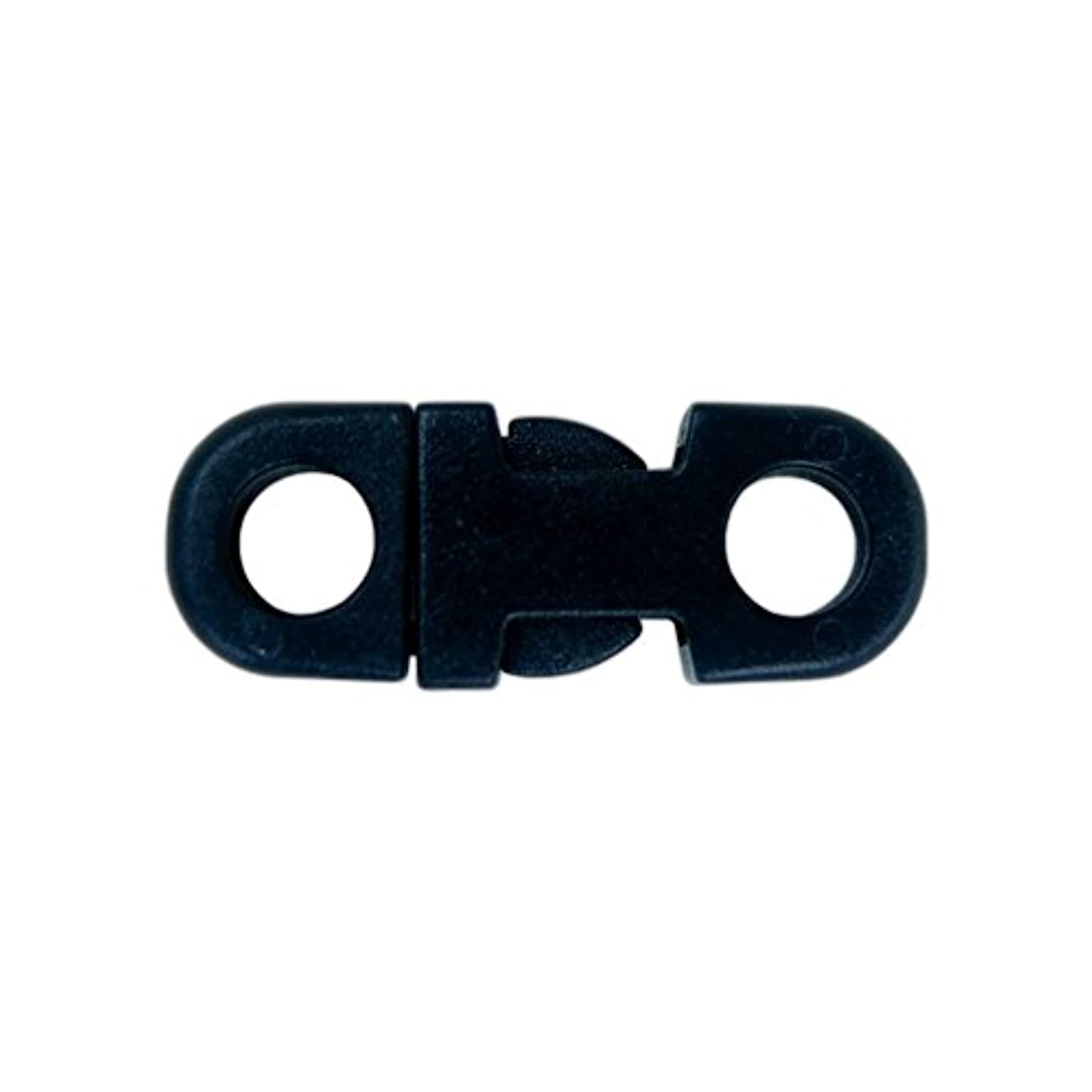 Craft County Breakaway Flat Side Release Buckles – Variety of Colors – 3/8 Inch