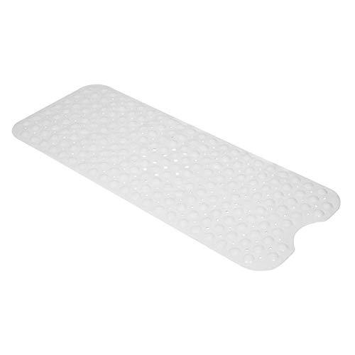 SISHUINIANHUA Bad Badewanne Anti-Rutsch Badematte 99 * 39Cm Milky White