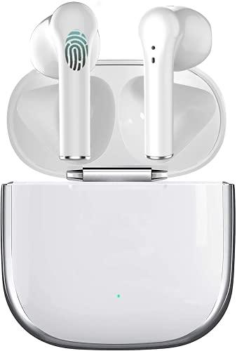 Bluetooth Kopfhörer Aktive Rauschunterdrückung in Ear Kopfhörer Kabellos Kopfhörer Schnell Aufladbare Kopfhörer Bewegung wasserdichte Ohrhörer, Geeignet für iPhone/Apple/Airpods Kopfhöre