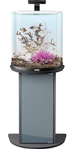 Tetra AquaArt Explorer Line Aquarium Komplett-Set 60 Liter anthrazit (gewölbte Frontscheibe, langlebige LED-Beleuchtung, ideal für die Haltung von tropischen Zierfischen) - 3