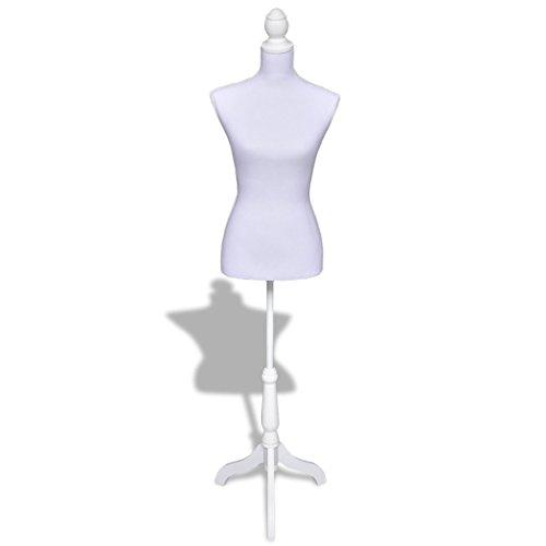 Festnight Busto Sartoriale Donna/Sartoriale Regolabile Bianco