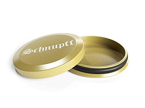Schnupff - Contenitore in alluminio per tabacco da fiuto