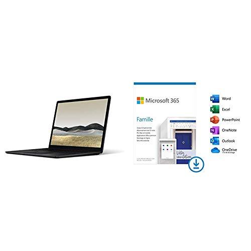 petit un compact Microsoft Surface Laptop 3 – PC ultra portable (écran 13 pouces, Intel Core i5, 8 Go de RAM, 256 Go…