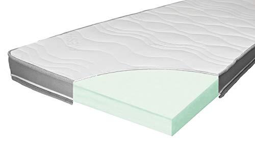 ARBD Matratzenauflage - Topper | Modelle mit 7-12cm Gesamthöhe | waschbarer Bezug mit 3D-Mesh-Klimaband (H4 XL - 10cm, 180 x 200 cm)