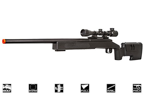 ASG McMillian Sportline M40A3 Bolt Action Spring Sniper Airsoft Rifle...