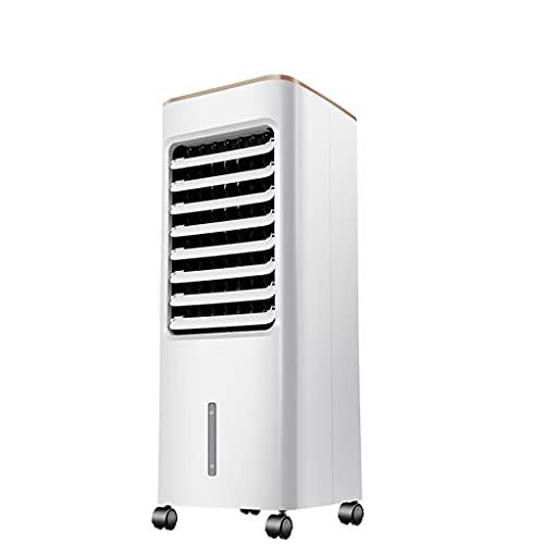 ZZXUAN Enfriador de Aire Grande,Aire Acondicionado,Climatizador Evaporativo 3 en 1 Enfría  Purificador, 3 Modos,1-7.5 H Temporizadores,con Ruedas y Control Remoto,10L