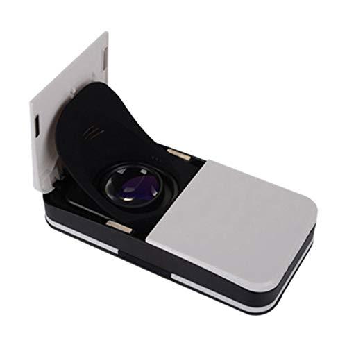 Camisin Klappbare VR Brille, Tragbare 3D Virtuelle Realit?T Brille, Digitaler Smartphone VR Helm