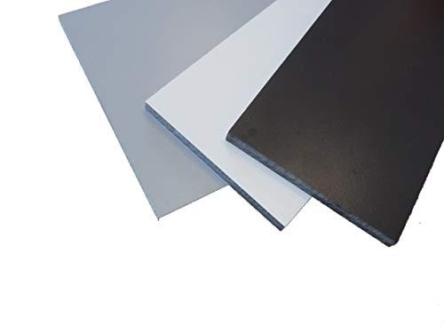 Fassadenplatte Balkonplatte HPL 1000 x 500 x 6 mm graphit (grau) alt-intech®