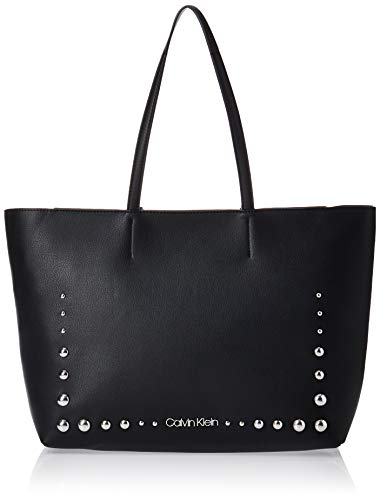 Calvin Klein - Ck Must Psp20 Med Shopper St, Bolsos totes Mujer, Negro (Black), 0.1x0.1x0.1 cm (W x H L)