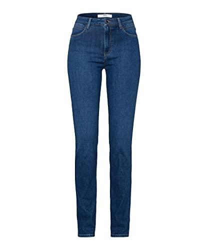 BRAX Damen Style Shakira Jeans, Slightly Used Regular Blue, 44 Kurz