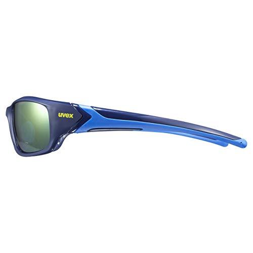 uvex Unisex– Erwachsene, sportstyle 211 Sportbrille, blue, one size - 4