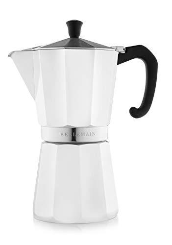 Cafetera 9 Tazas Induccion marca Bellemain