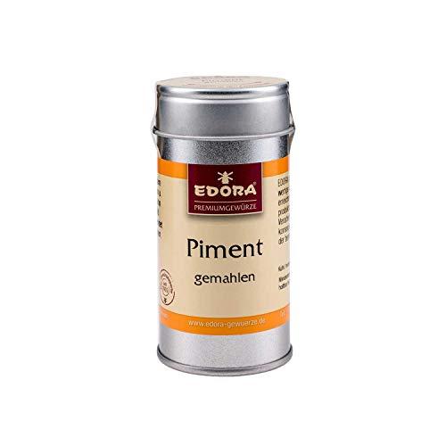 Premium Qualität Gewürz EDORA Streudose Streuer Pimentkörner Piment gemahlen 30 Gramm