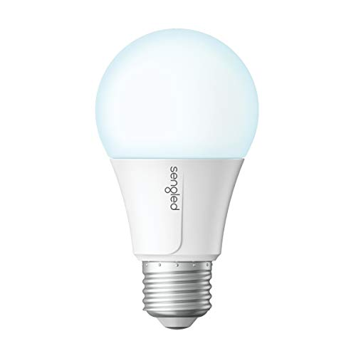 Sengled Smart Wi-Fi LED Daylight A19 Light Bulb, No Hub Required, 5000K, 60W Equivalent, Works with Alexa & Google Assistant, 1 Pack