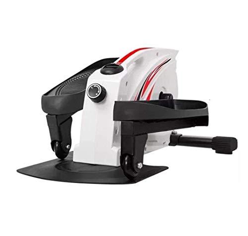 DGHJK Home Machine Stepping Twist Ellittica Home Mini Leg Stepper Mini Stepper Dimagrante Regolabile Peso Massimo del carico 150kg (Colore: Bianco)