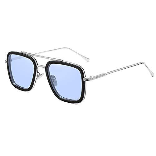 FSIGOM Tony Stark Yellow Edith Glasses for Women