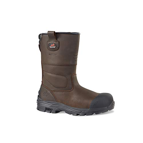 Rock Fall RF70 Texas 3 – Botas de seguridad, color Marrón, Talla 3