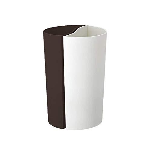 Poubelle- Poubelle découverte, boîte de rangement créative en bois pour le bureau à domicile