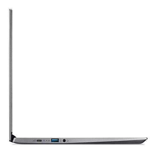Acer Chromebook 714 (14 Zoll FullHD IPS Touchscreen matt, Aluminium Unibody, 18mm flach, extrem lange Akkulaufzeit, schnelles WLAN, beleuchtete Tastatur, Fingerprintsensor, Google Chrome OS) Anthrazit