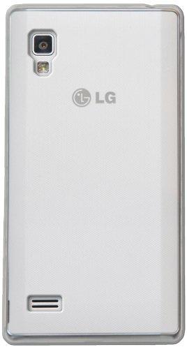 4-OK Protek - Funda para LG L9, Transparente