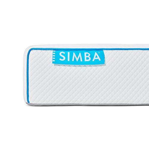 Simba Premium-Matratze mit siebenzonigem Schaumstoff für Einzelbett, 90 x 190 cm, Höhe 19 cm, für 100 Nachtversuche