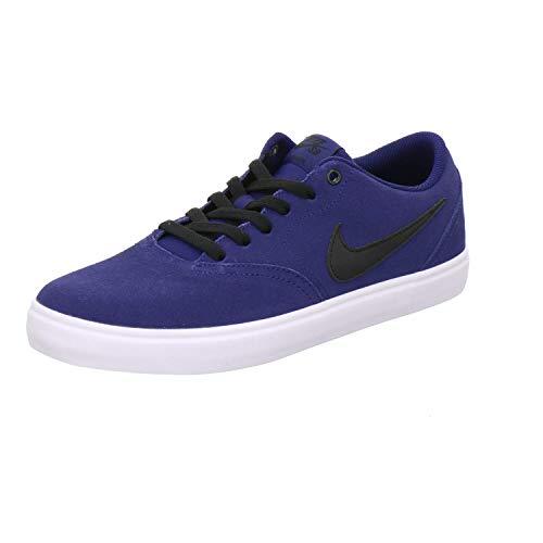 Nike SB Check Solar, Zapatillas de Deporte Hombre, Multicolor Blue Void Black White 001, 45 EU