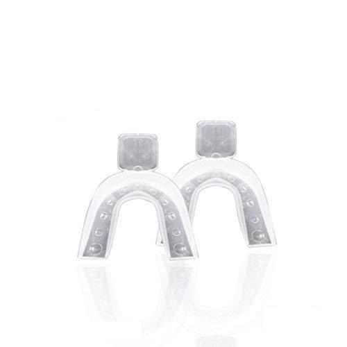 Gouttiere dentaire pour blanchiment des dents – Une paire de Gouttières dentaires thermo-déformable [ Blanchiment dentaire ]