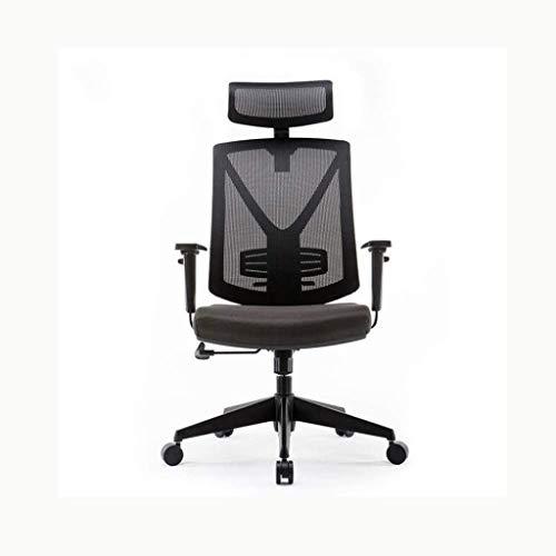 Silla de mesa de oficina con altura ajustable de 360 ° giratorio de apoyo lumbar, silla de escritorio, silla ergonómica de malla (color: estilo 3)