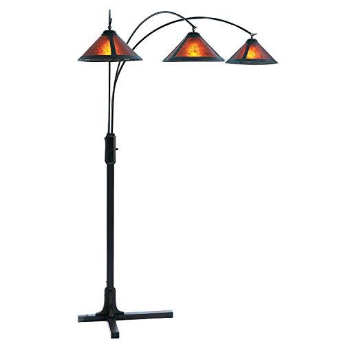NOVA of California 4212BZ Arc Lamp, Dark Brown