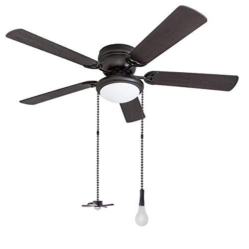 BigBig Style ketting set in de vorm van een licht- en ventilatorketting met aansluiting voor woonaccessoires zwart