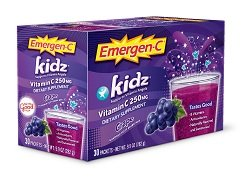 ALACER EMERGENC Kidz Grape 30CT 9.9OZ