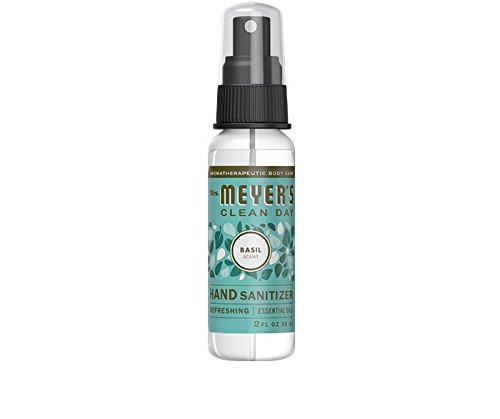 Mrs. Meyer's Hand Sanitizer, 2 OZ (Pack - 3, Basil)