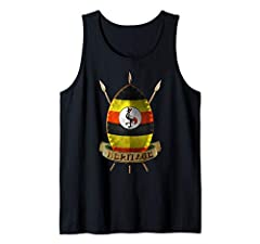 Uganda Flag Design Ugandan Flag. Ugandan National Flag patriotic design. Do you have Ugandan roots and DNA? Show your pride and heritage. I love Uganda. Be proud Ugandan and show support for your homeland. Unique, cool Ugandan gift idea. Novelty gift...